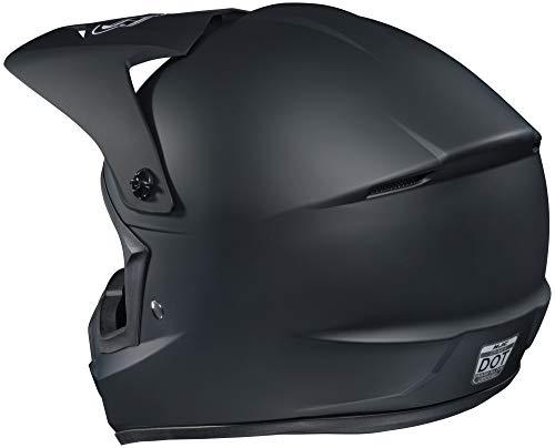 (HJC Helmets CS-MX 2 Helmet (XXX-LARGE) (MATTE BLACK))