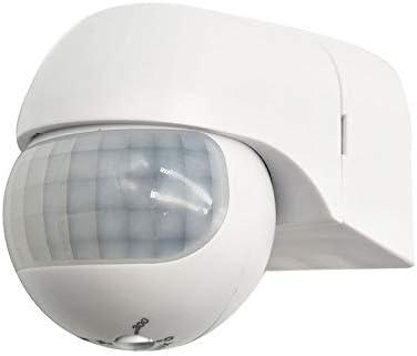 WOVELOT Ac110V-240V 180 Grados Al Aire Libre Interruptor de Sensor de Movimiento por Infrarrojos Pir de Seguridad Ip44 Interruptor de Movimiento de Detector MAX 30M: Amazon.es: Electrónica
