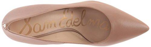 Sam Edelman Women's Tristan Pump, Black/Dress Nappa Lea, 12 UK Golden Caramel Leather