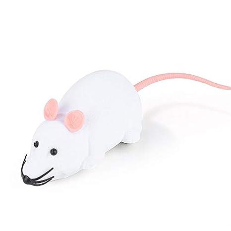 LINYANMY Control Remoto inalámbrico Cat Toy RC Ratón electrónico Ratón Ratones Gatos Juguete para Gato burlas: Amazon.es: Productos para mascotas