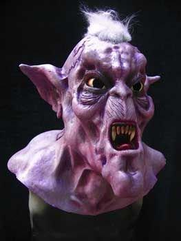 Horror-Shop Iroky Vampire Latex Maske