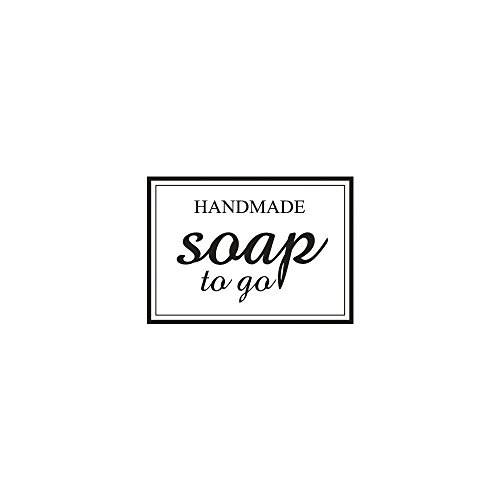 RAYHER HOBBY 'Rayher Stamp 29052000Handmade Soap to Go, 3x4cm, Wood, natural, Red, 4x 3x 2.5cm