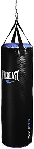 Everlast Everstrike Heavy Bag 80 lb - Black/Blue