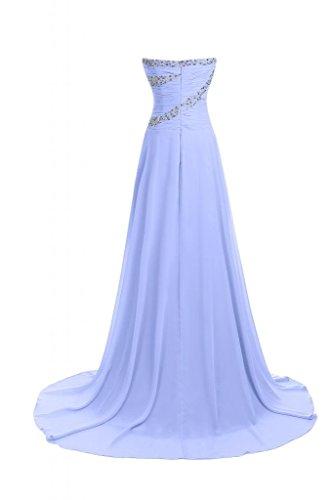 linea lungo elegante della sera Lavanda Vestito Line Sweetheart A da Pageant Sunvary abiti FUSwfqxF