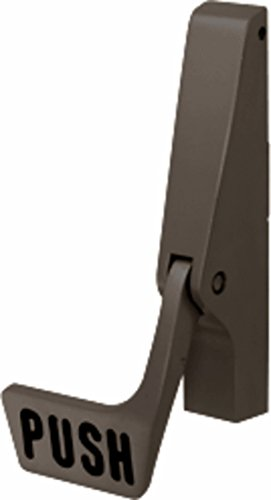 Jackson 30984313 Dark Bronze Body and Paddle Assembly for Right Hand Reverse Bevel 1085P Series Concealed Vertical Rod Exit Device