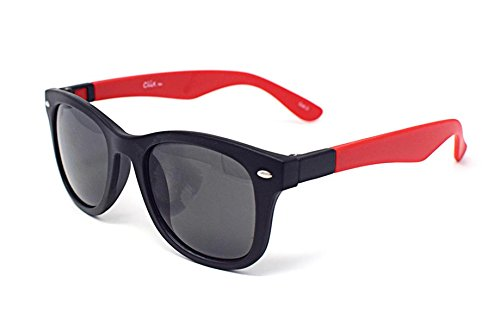 Red and White Inter Changeable Style Sunglasses Unisex InterChangeable Arms Colourful Lenses Stylish UV400 - Glasses Polorised