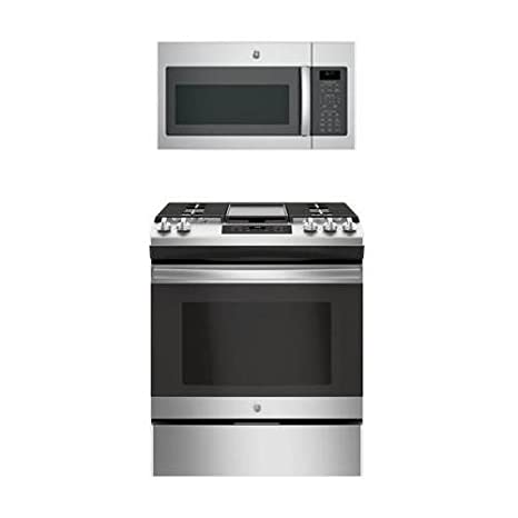 Amazon.com: GE 2-Piece Kitchen Appliance Package With ...