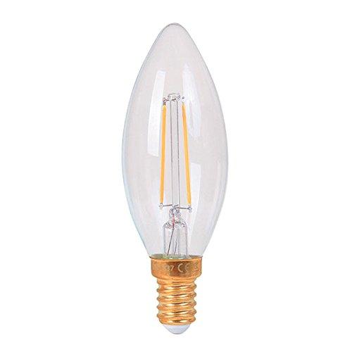 Bombilla LED Girard Sudron forma llama Claire - Casquillo E14 3 W: Amazon.es: Iluminación