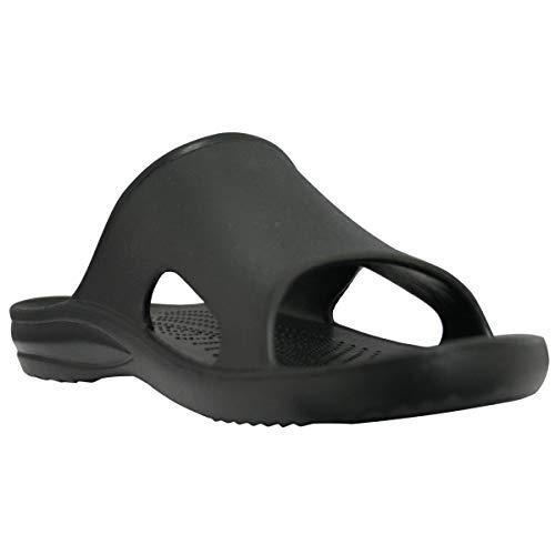 DAWGS Men's Slide MSL, Black, 8 M US