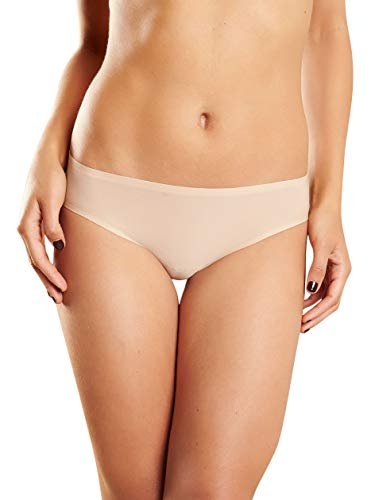 Chantelle Women's Soft Stretch Low Rise Bikini, Ultra Nude, One Size