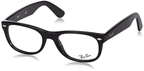 Ray-Ban RX5184 Lunettes en noir brillant RX5184 2000 50 Noir (Negro)