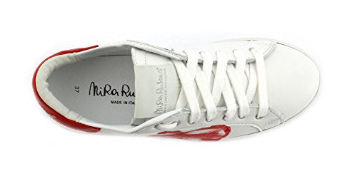 Red Rubens Samo Cuore Martini Nira Sneaker NICU04 Pop Bianco Adw81z