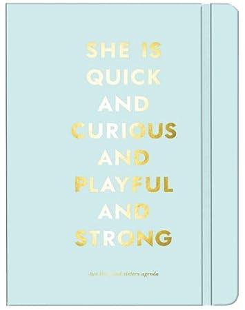 Amazon.com: 2016 Kate Spade Agenda, Quick And Curious NEW ...