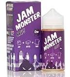 JAM MONSTER ジャムモンスター Grape グレープ ぶどう 朝食 ジャムバター トースト 電子タバコ リキッド 100ml