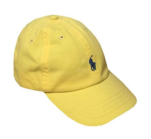 Ralph Lauren Infant Boys Pony Logo Hat Ball Cap (12M/24M, Yellow)