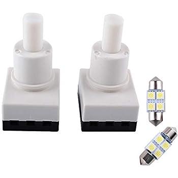 Car Interior Dome Lamp Light Bulb Switch for Honda Accord CR-V Element