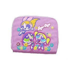 The Powerpuff Girls Blossom Bubbles & Buttercup Zipper Wallet