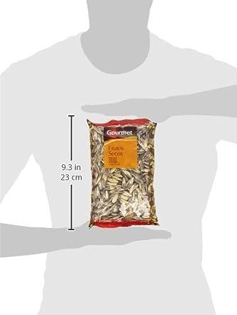 Gourmet - Frutos secos - Pipas de girasol gigantes con sal - 200 g: Amazon.es: Alimentación y bebidas