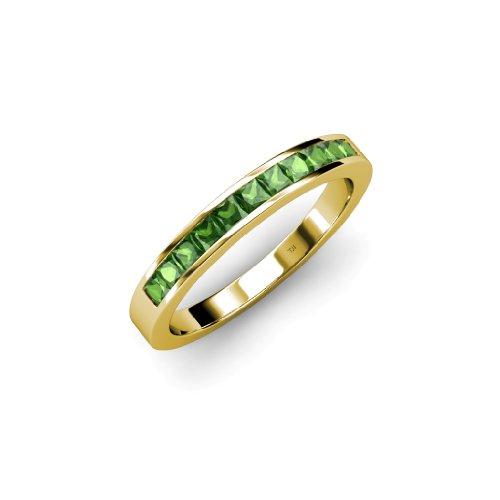 Tsavorite Yellow Ring - 8