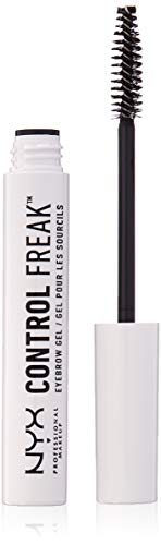 NYX PROFESSIONAL MAKEUP Control Freak Eyebrow Gel, 0.3 Ounce ()