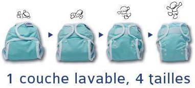 pa/ñales de atar // OneSize 3 etc Cubrepa/ñales para pa/ñales de tela para casi todos los pa/ñales de tela por ejemplo Bambinex pa/ñales de gasa 1 Bambinex Pack de ahorro de 2 unidades * OneSize Wrap