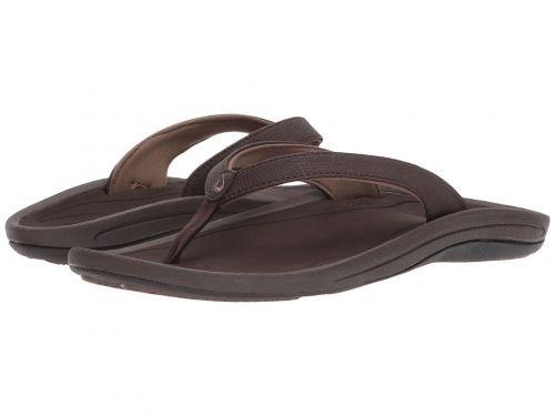 Olukai(オルカイ) レディース 女性用 シューズ 靴 サンダル Kulapa Kai W - Dark Java/Dark Wood 5 B - Medium [並行輸入品]