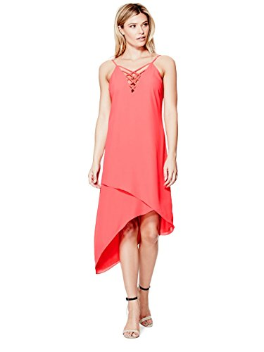 GUESS-Ellia-Strappy-Asymmetrical-Dress
