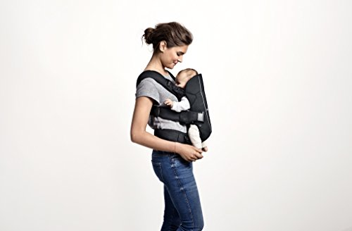 Image of the BABYBJORN Baby Carrier One - Black, Cotton