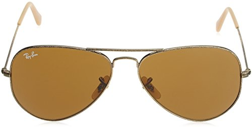 Ray-Ban - Lunettes de Soleil - RB3025 Aviator Metal Aviator 58 mm Antique Gold