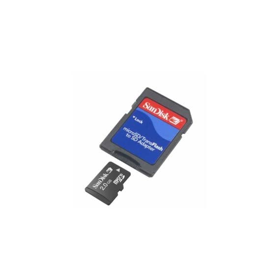 SanDisk 2GB MicroSD / TransFlash Card w/SD Adapter camcorder 1 SanDisk 2 GB MicroSD/TransFlash CardGeneral Features: 2 GB capacity Compatible with all MicroSD/Tran Includes a Secure Digital MicroSD/TransFlash adapter with lock Sandisk SDSDQ-2048 (Bulk Package)