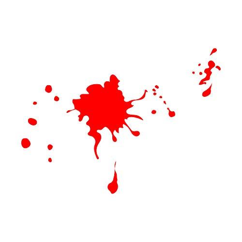 Vinyl Wall Art Decal - Blood Splatter - from 1