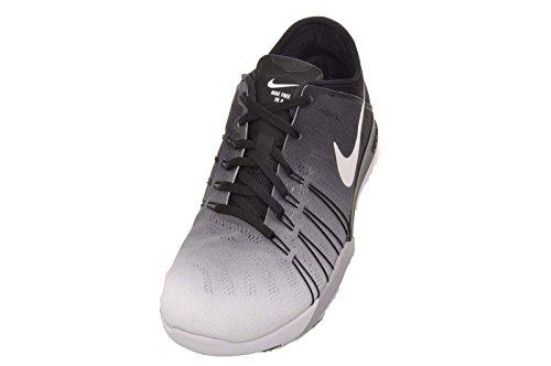 Damen Nike Free TR 6 Trainingsschuhe Schwarz / Summit Weiß - Wolfsgrau