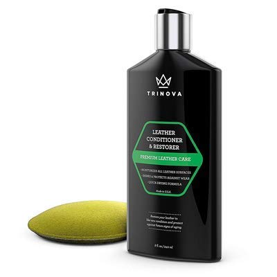 TriNova Leather Conditioner and