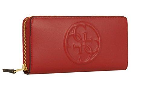 Le Donne rosso Colore Borsa Indovinate Nero Per Rosso 46wtnx