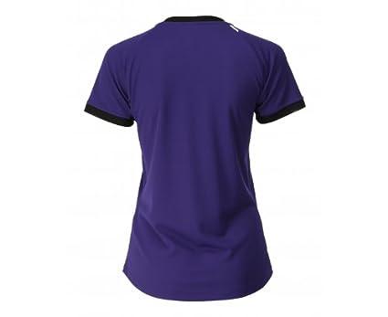 asics t shirt donna porpora