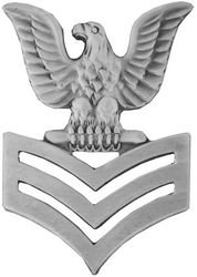 (Petty Officer 1st Class (Left) Lapel Pin or Hat Pin)