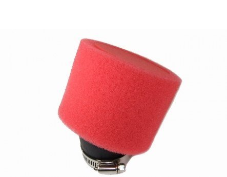 New Red Dual Layer Foam Air Filter 35mm 36mm 37mm 38mm 39mm Compare To UNI K&N