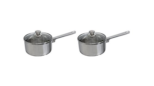 Mainstays 2-Pieces Stainless Steel 3-Quart Sauce Pan with Straining Lid