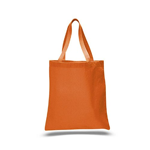 Promotional Priced Heavy Cotton Canvas Shopping Blank Tote Bag Art Craft (Texas ()