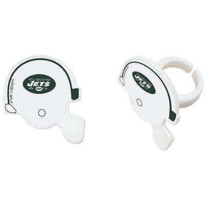 New York Jets Cupcake Rings Cake Decoration Birthday Football NFL 24 -