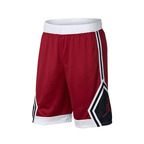 Diamond Nike Rosso Bianco kein Rise Rosso Gym Nero Genre Short Gym wr0xqr45Y