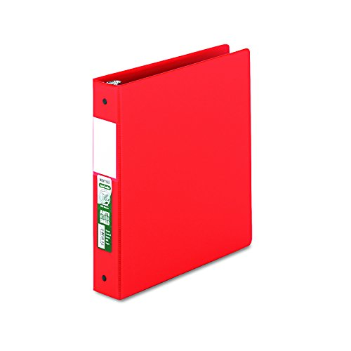 Samsill 14353 Clean Touch Locking Round Ring Reference Binder, Antimicrobial, 1 1/2