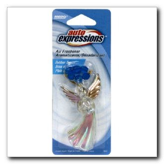 Auto Expressions Crystal Angel Air Freshener, Outdoor Breeze (CA-3) (Crystal Ca3)