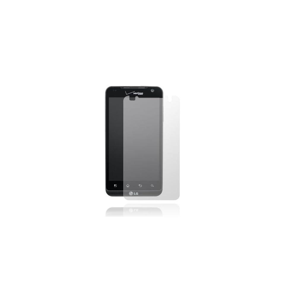 ANTI GLARE LCD Screen Protector Cover Kit For LG Revolution VS910