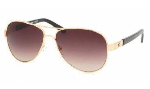Tory Burch Sunglasses TY 6010 GOLD 362/13 - Tory Burch Plastic Aviator Sunglasses