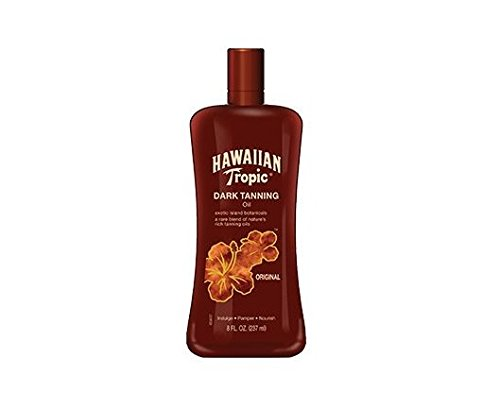 Hawaiian Tropic Dark Tanning Oil, Original 8 fl oz (237 ml)