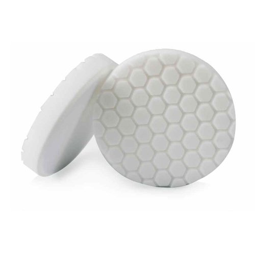Chemical Guys BUFX_104_HEX6 Hex-Logic Light-Medium Polishing Pad, White (6.5 Inch)
