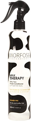 Morfose Pro Milk Therapy Milky Two Phase Conditioner- 13.52 oz / 400ml