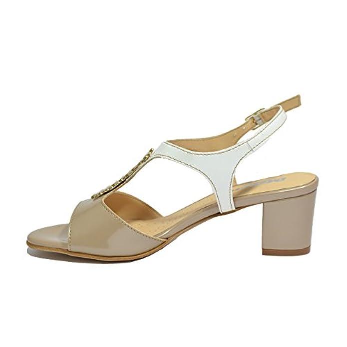 Melluso Sandali Scarpe Donna Bianco K95337v