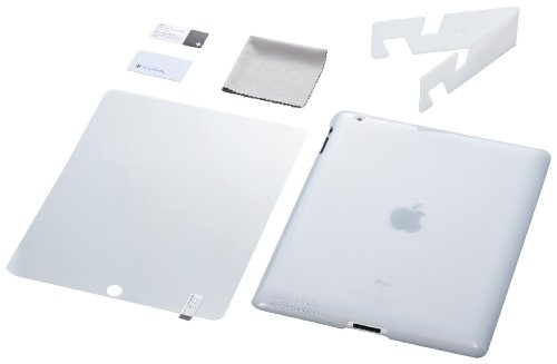 Simplism Crystal - Simplism Japan Crystal Cover Set for iPad 2 - White (TR-CCSIPD2-WT/EN)